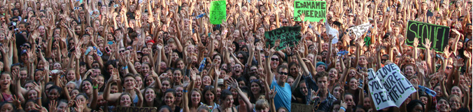 Ed Sheeran Crowd