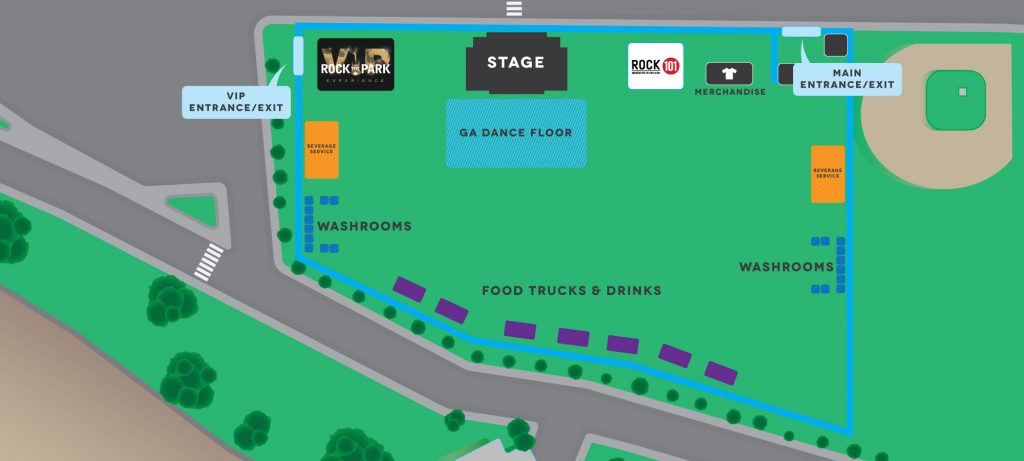 Rock The Park Ambleside Map